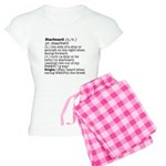 Display the Rule in this Women's Light Pajamas