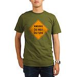 Take Heed of This Organic Men's T-Shirt (dark)