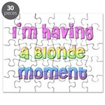 The Blonde's Puzzle