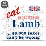 Slam in the Lamb Puzzle