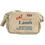 Slam in the Lamb Messenger Bag
