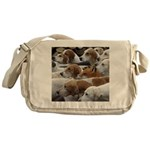 The Foxed Messenger Bag