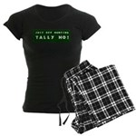 Tally Ho! Get the Women's Dark Pajamas