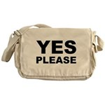 Say Please With This Messenger Bag