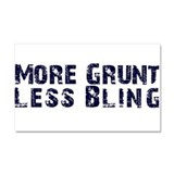 The Grunt Car Magnet 20 x 12