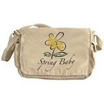The Spring Baby Messenger Bag
