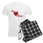 The Love Bump Men's Light Pajamas