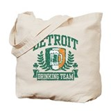 Detroit Irish Drinking Team Tote Bag