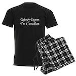 The Canadian Men's Dark Pajamas