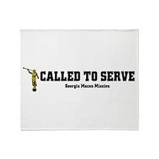 Georgia Macon LDS Mission Cal Throw Blanket