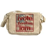 Think, Vote, Be with this Messenger Bag