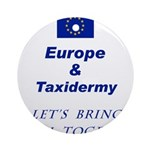 Stuff The EU with this Ornament (Round)