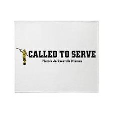 Florida Jacksonville LDS Miss Throw Blanket