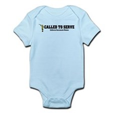 California Sacramento LDS Mis Infant Bodysuit