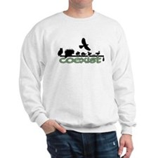 Wildlife Coexist Sweatshirt