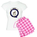 Cute Clan scott badge Pajamas