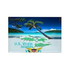VIRGIN ISLANDS Rectangle Magnet