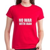 No War With Iran Tee
