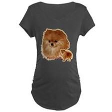 Pomeranian head and body T-Shirt
