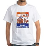 Vote for Hoover White T-Shirt