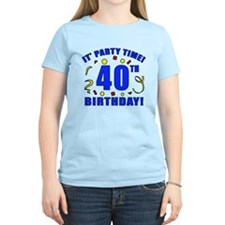 40th Birthday Party Time T-Shirt