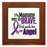 Angel 1 Pancreatic Cancer Framed Tile