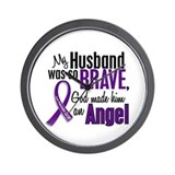 Angel 1 Pancreatic Cancer Wall Clock