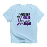 Angel 1 Pancreatic Cancer Infant T-Shirt