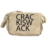 Crack is Wack Messenger Bag