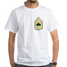 Master Sergeant Shirt, Back Retired Logo