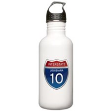 Interstate 10 Sports Water Bottle