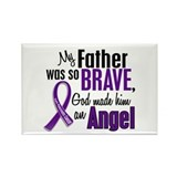 Angel 1 Pancreatic Cancer Rectangle Magnet (100 pa
