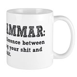 Know Your Grammar Small Mug