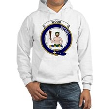 Cute Wood badge Hoodie Sweatshirt