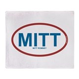 MITT - Mitt Romney 2012 Throw Blanket