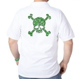 Irish Shamrock Crossbones T-Shirt