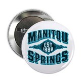 "Manitou Springs Black Ice 2.25"" Button"