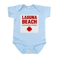 Laguna Beach Lifeguard Patrol  Infant Creeper