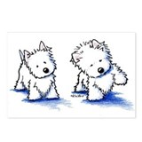 Shadowboxing Westies Postcards (Package of 8)