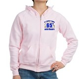 65th Birthday Party Time Zip Hoodie