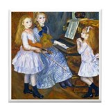 Renoir - Mendes Daughters Tile Coaster