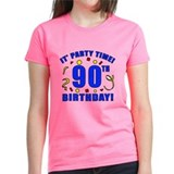 90th Birthday Party Time Tee