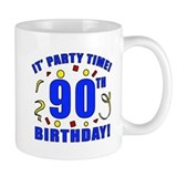 90th Birthday Party Time Mug