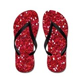 Red Glitter Flip Flops Brides Maid Survival Kit