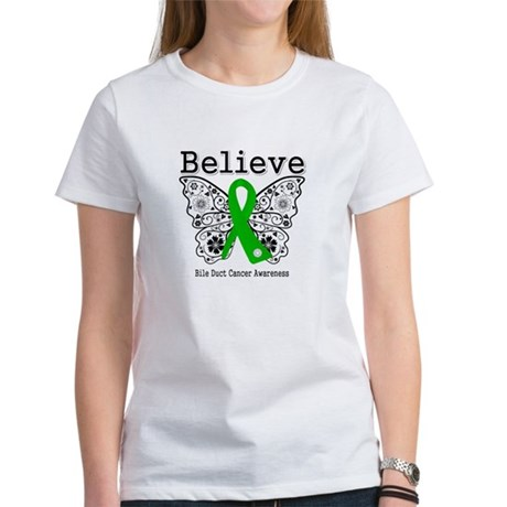 Believe Bile Duct Cancer Women's T-Shirt