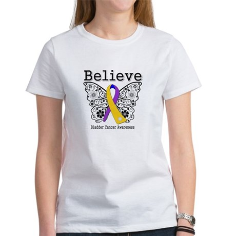 Believe Bladder Cancer Women's T-Shirt