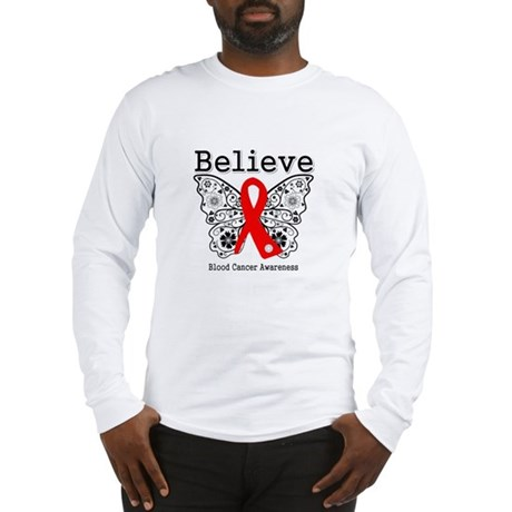 Believe Blood Cancer Long Sleeve T-Shirt