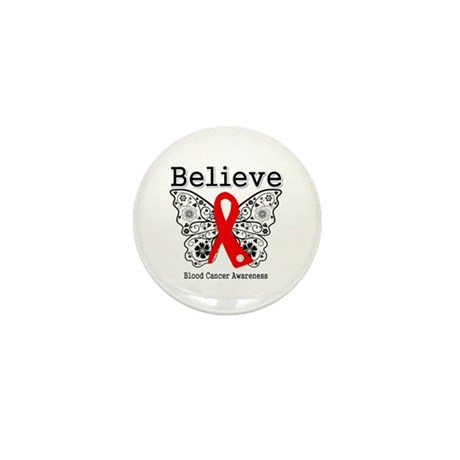 Believe Blood Cancer Mini Button (100 pack)