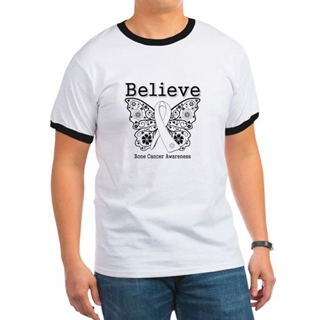 Believe Bone Cancer Ringer T