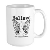 Believe Bone Cancer Mug